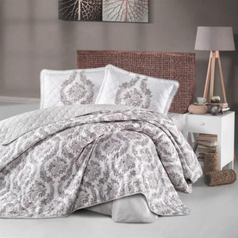 Cuvertură de pat Clasy-matlasată 2 persoane (FORESTA V1)