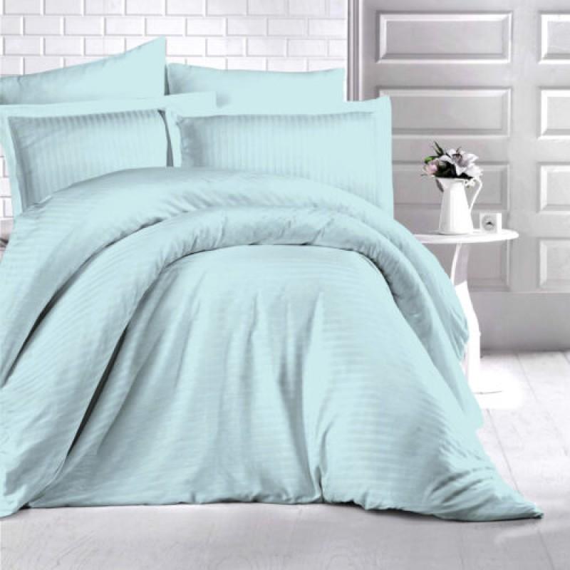 Lenjerie de pat damasc HORECA (GROS) - MINT Două persoane