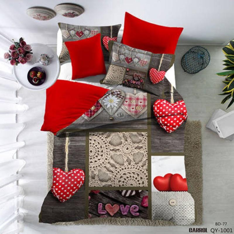 Lenjerie de pat poplin – două persoane (QY-1001)