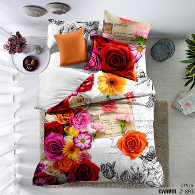Lenjerie de pat poplin – două persoane (QY-849)